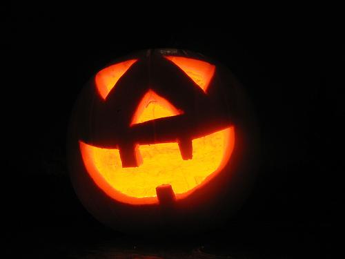 улыбка Хеллоуина
